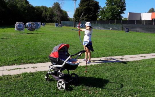 Tiro con l'arco: è uno sport per le mamme!
